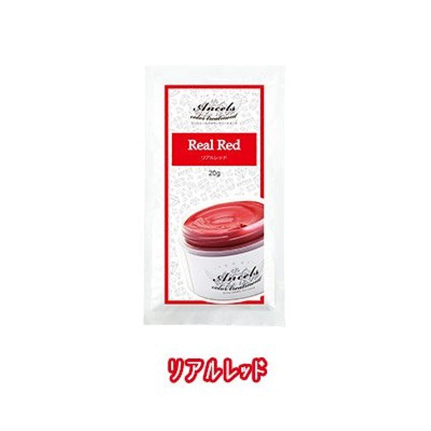 会社くぼみ難民エンシェールズ カラートリートメントバター プチ(お試しサイズ) リアルレッド 20g