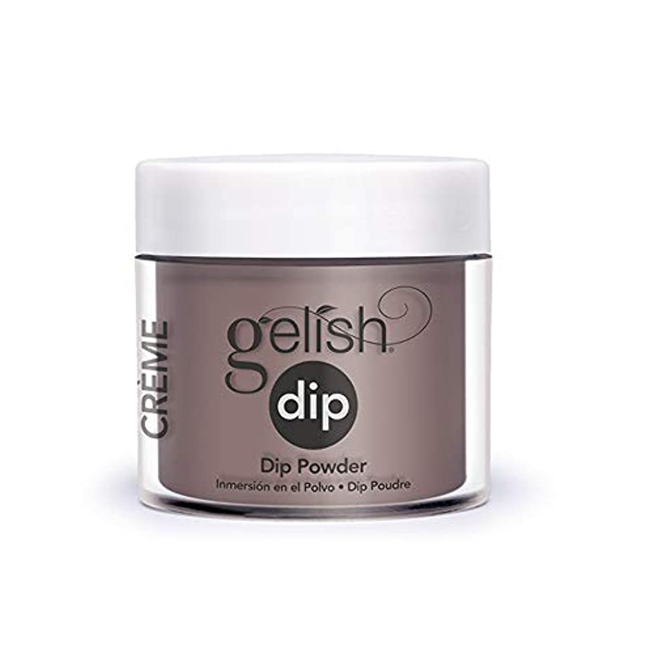 水を飲む朝の体操をする分散Harmony Gelish - Acrylic Dip Powder - Latte Please - 23g / 0.8oz
