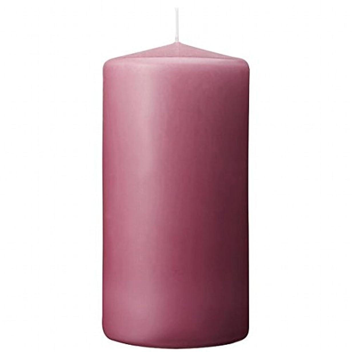 申請者反発蓄積するカメヤマキャンドル(kameyama candle) 3×6ベルトップピラーキャンドル 「 ラベンダークリーム 」