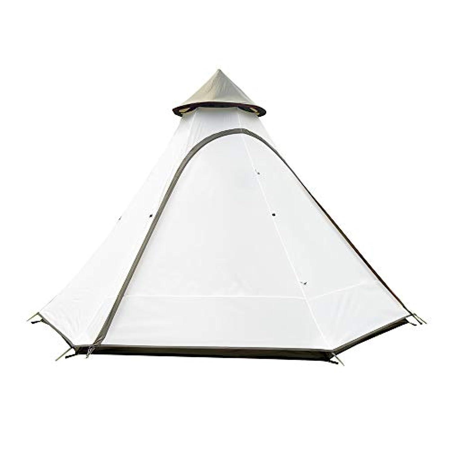 寛大な観光に行く毎週Vidalido Teepee インディアンワンポールテント 4人用収納コンパクト簡単設営