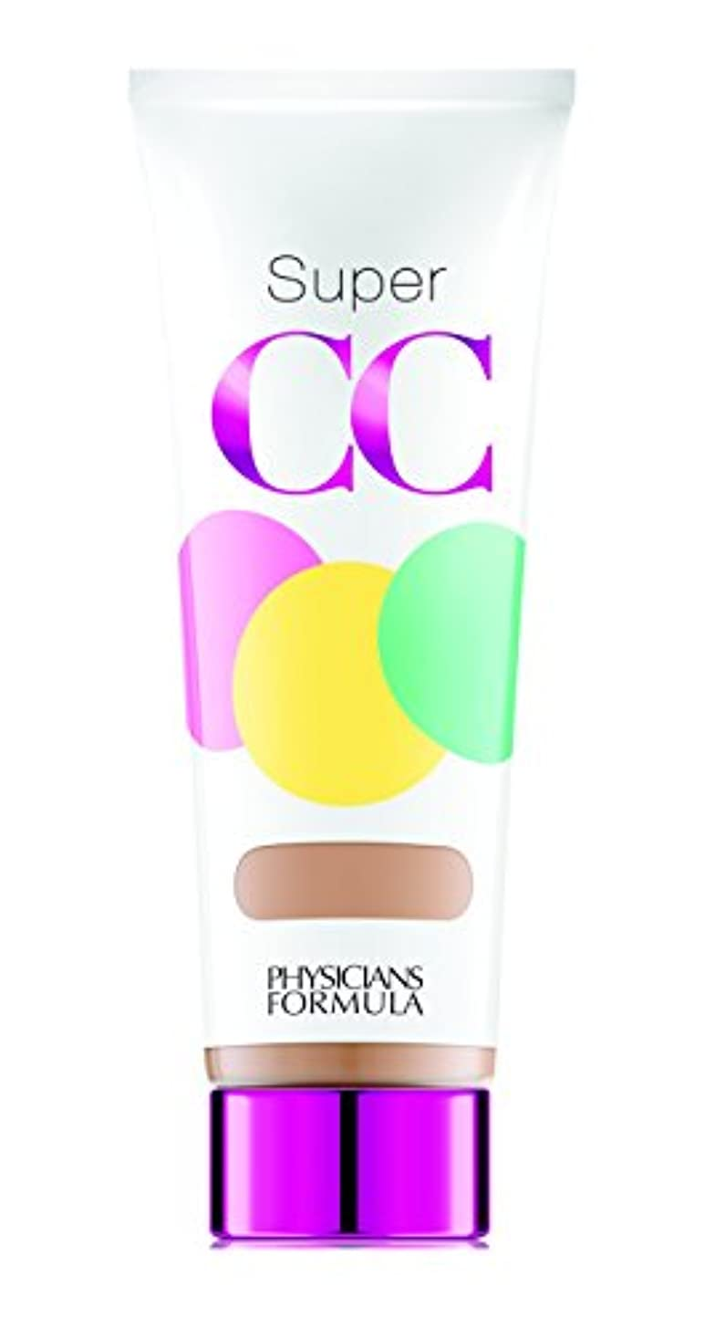 浸漬分離する佐賀PHYSICIANS FORMULA Super CC+ Color-Correction + Care CC+ Cream SPF 30 - Light