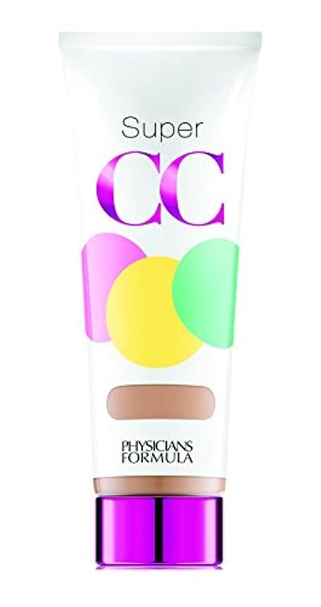マスク送った机PHYSICIANS FORMULA Super CC+ Color-Correction + Care CC+ Cream SPF 30 - Light