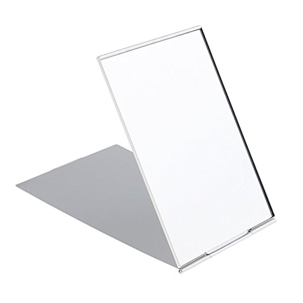 藤色影響迅速化粧鏡 スタンド 卓上 メイクアップミラー 折り畳み式 卓上ミラー 全3サイズ - #1
