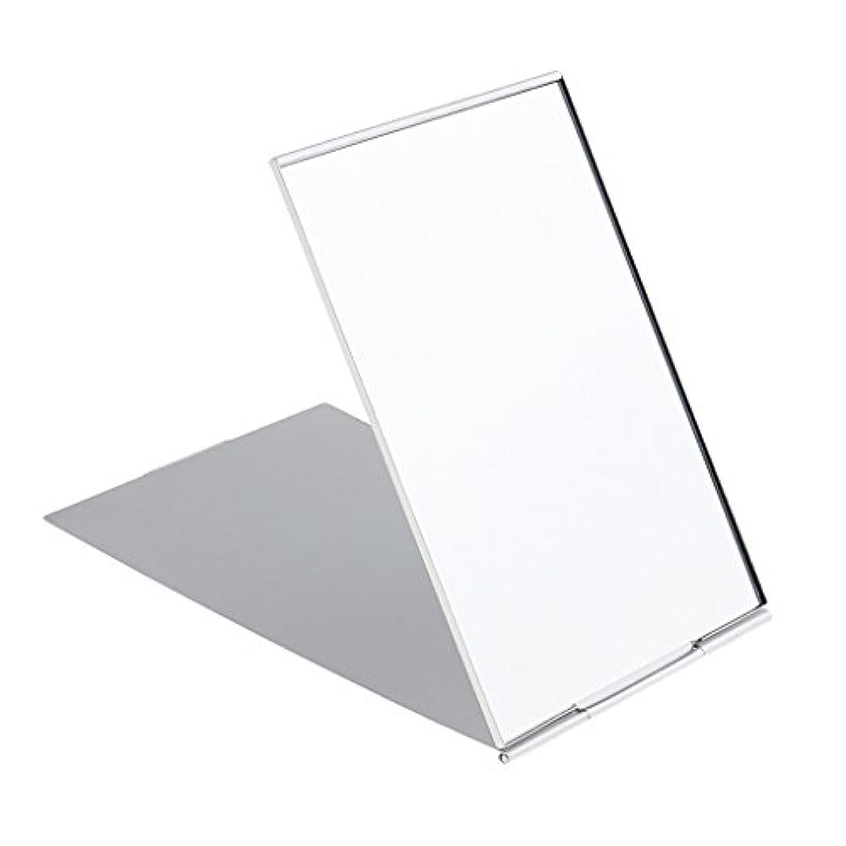 フリース仲良しウェーハ化粧鏡 スタンド 卓上 メイクアップミラー 折り畳み式 卓上ミラー 全3サイズ - #1