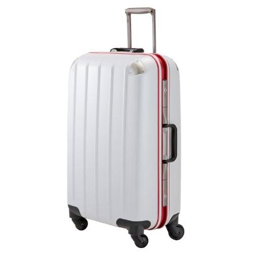 Advance swift スーツケース フレームタイプ 4輪 LLサイズ 5.9kg 83L TSA付 カーボンホワイト 5510-71