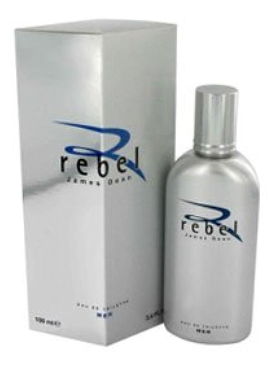 隣接忠誠異常なRebel (レベル) Gift Set - 1.7 oz (50ml) EDT Spray + サングラス by James Dean for Men