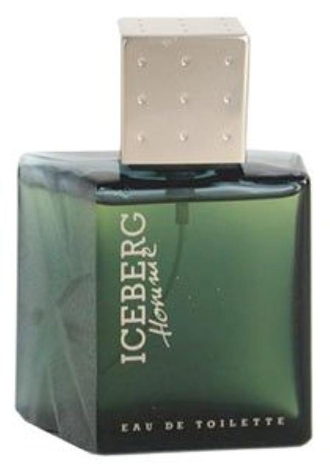 チーム手首無声でIceberg Homme (アイスバーグ オム) 3.3 oz (100ml) EDT Spray for Men