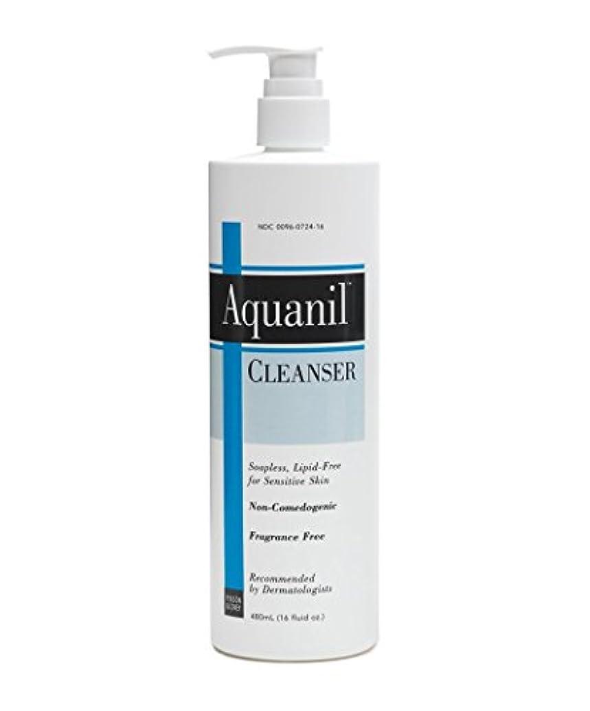 デコラティブ発音示す海外直送肘 Aquanil Cleanser A Gentle Soapless Lipid-Free, 16 oz