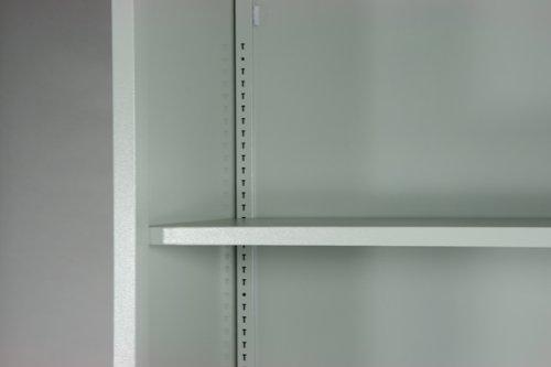 オープン書庫 キャビネット 書棚 本棚 スチールラック スチール棚 10-020