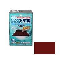 アサヒペン AP 水性シリコンアクリルトタン用 14L 赤さび ds-1828655