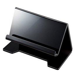 [해외]산와 태블릿 스마트 폰용 데스크탑 스탠드 (블랙) PDA-STN13BK 산와 [단순 패키지 특가]/Sanwa Supply Desktop Stand for Tablet and Smartphone (Black) PDA - STN13BK Sanwa Supply [Simple Package]