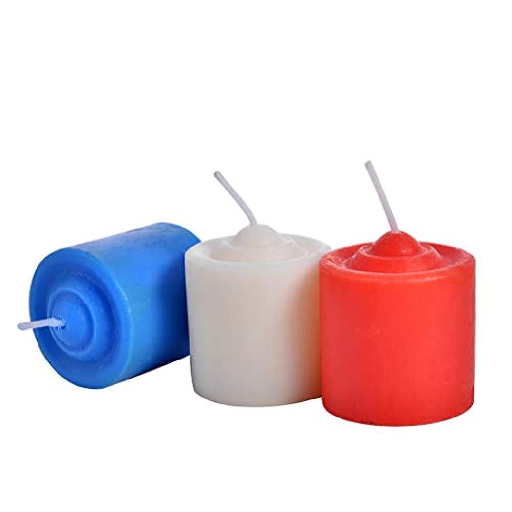 風味シードパラダイスBESTOYARD 低温ローソク 低温キャンドル SM専用 大人 カップル 恋人 3ピース(赤いホワイトブルー)