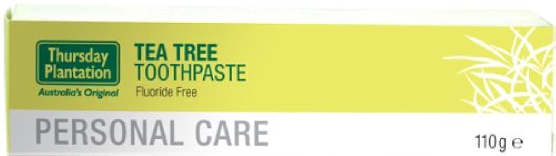 デモンストレーション共同選択血まみれのティーツリー 歯磨き粉 110gx3本セット 【海外直送品】