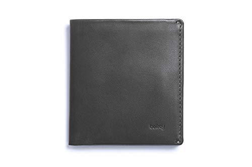 Bellroy メンズ レザ ー Note Sleeve ウォレット Charcoal (新スタイル)