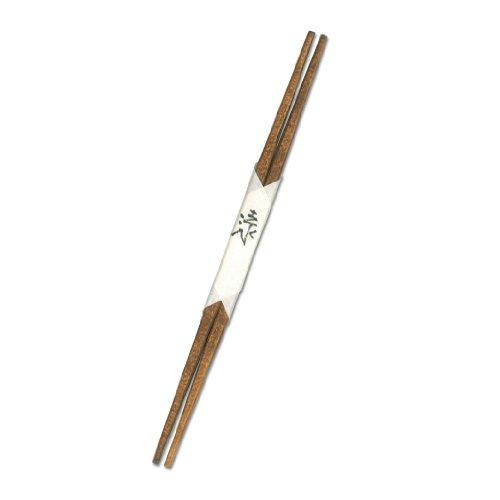 藤八屋 客用箸(吉野杉使用 拭き漆仕上げ 利休箸) 24.0cm