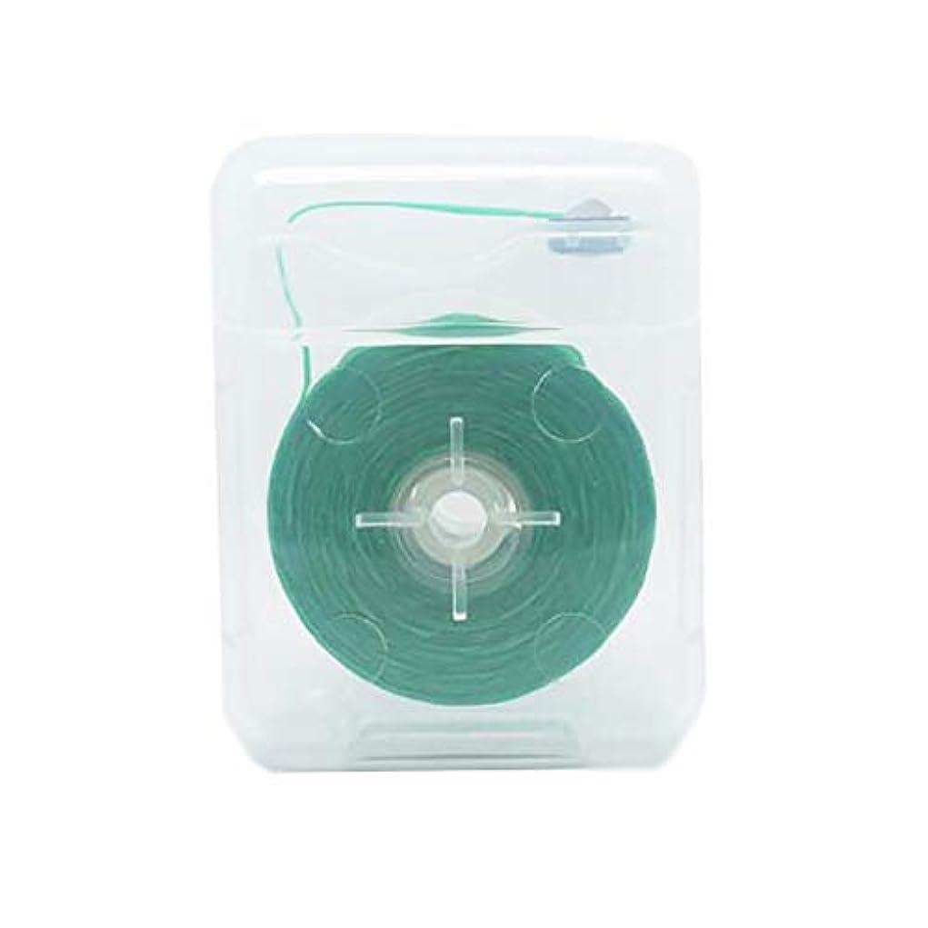 ロースト涙が出る無線Decdeal デンタルフロス 50m 歯間歯のクリーナー 糸巻きタイプ