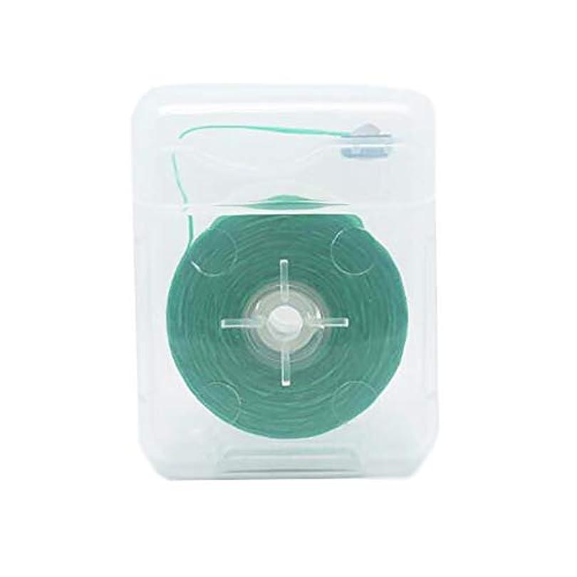 配分面白いシンクDecdeal デンタルフロス 50m 歯間歯のクリーナー 糸巻きタイプ