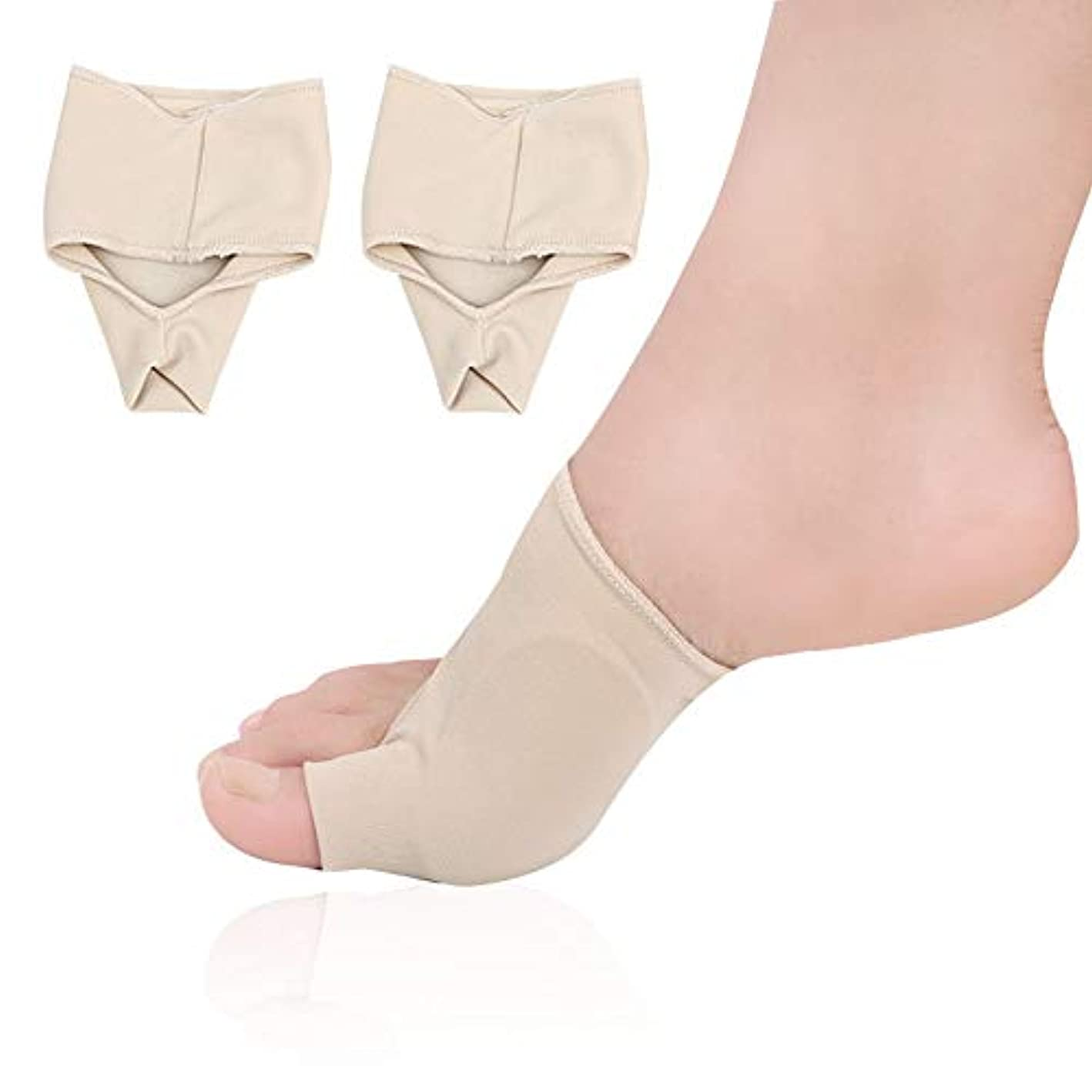 も征服家主つま先矯正靴下ケアつま先防止重複伸縮性の高いダンピング吸収汗通気性ライクラSEBS布,5pairs,L