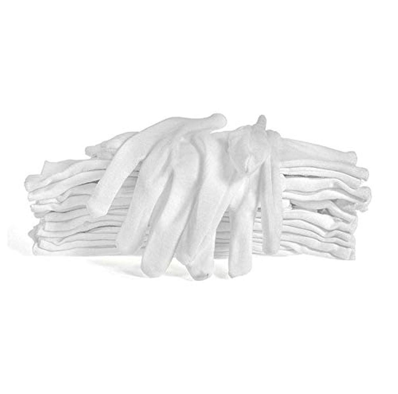 明確に優れたコンプリート12双組 コットン手袋 綿手袋 使い捨て 白手袋 薄手 お休み 湿疹手荒れ 純綿 礼装用 メンズ 手袋 乾燥肌 保湿 レディース白