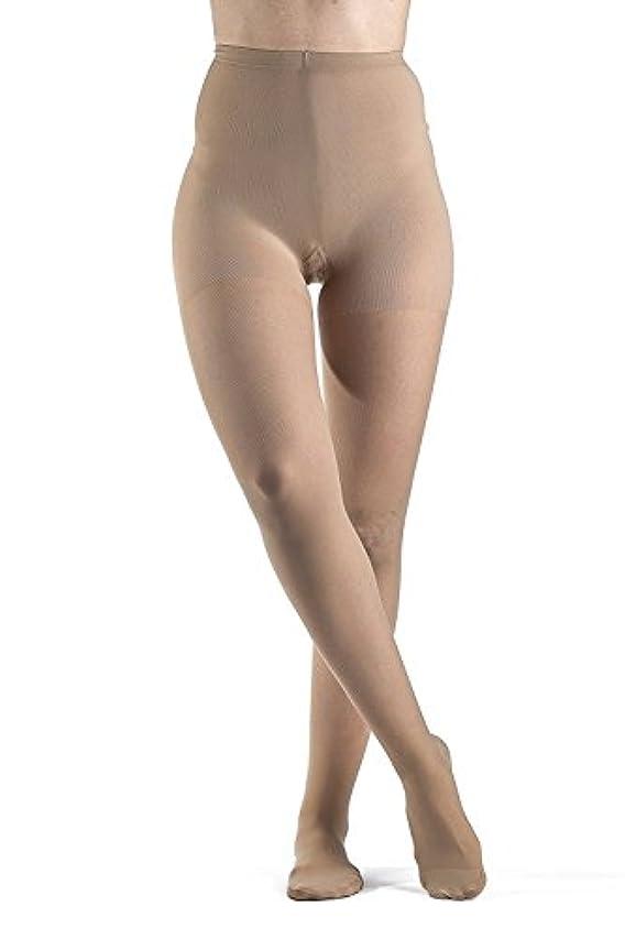 適格クリープ誠意Sigvaris Ever Sheer Pantyhose 20-30mmHg Women's Closed Toe Short Length, Small Short, Natural by Sigvaris