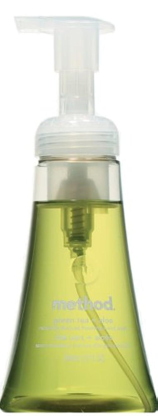 抗生物質背骨拘束するメソッド ハンドソープ フォーミングタイプ グリーンティー+アロエ 300mL