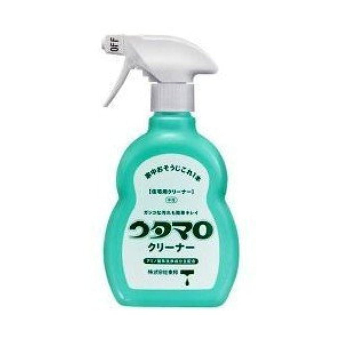 避難する魅力的であることへのアピール社会科ウタマロ クリーナー 400ml 洗剤 住居用 アミノ酸系洗浄成分主配合 さわやかなグリーンハーブの香り