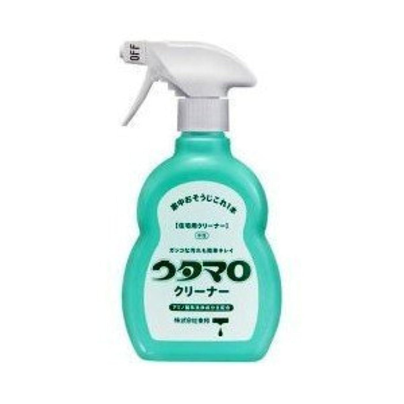 ポーチ二年生バドミントンウタマロ クリーナー 400ml 洗剤 住居用 アミノ酸系洗浄成分主配合 さわやかなグリーンハーブの香り