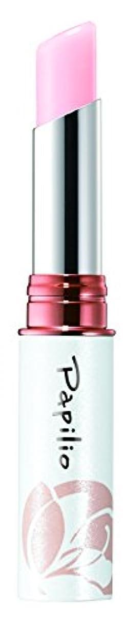 やさしくフラップ識別するパピリオ(Papilio) トリートメントリップエッセンスLX1(ピンク) 唇の美容液