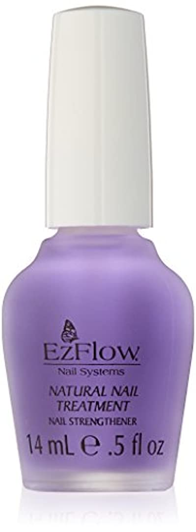 配置稚魚中にEZ FLOW Natural Nail Treatment, 0.5 Ounce by EzFlow