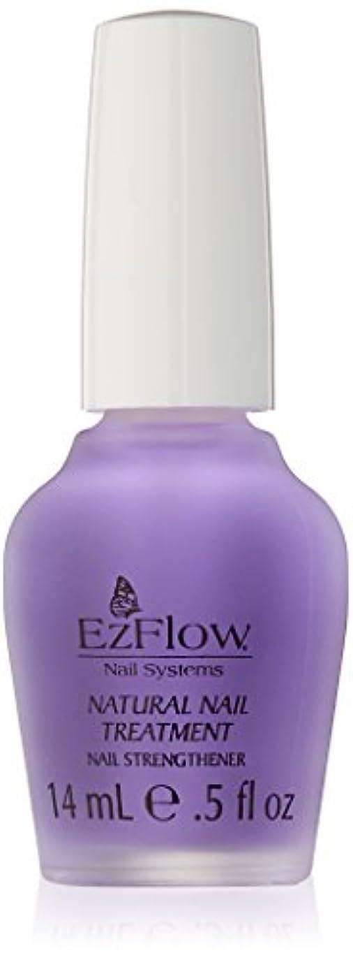 見える引き渡すメタルラインEZ FLOW Natural Nail Treatment, 0.5 Ounce by EzFlow