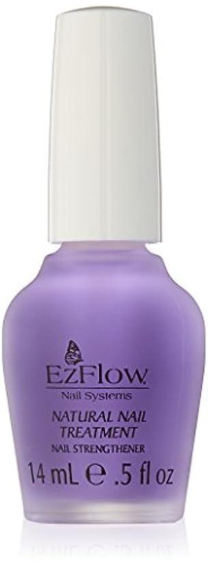 請負業者責パッドEZ FLOW Natural Nail Treatment, 0.5 Ounce by EzFlow