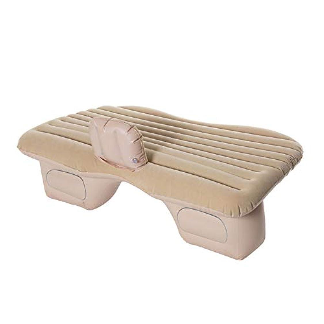 腕鋸歯状左車の膨脹可能なベッド、厚く柔らかい群がる材料から成っていることおよびきれいになること容易の携帯用エアマットレスは、ほとんどのモデルに合います