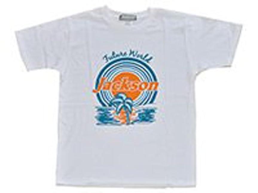 足音メダリスト手紙を書くJackson(ジャクソン) Tシャツ M アイランドホワイト