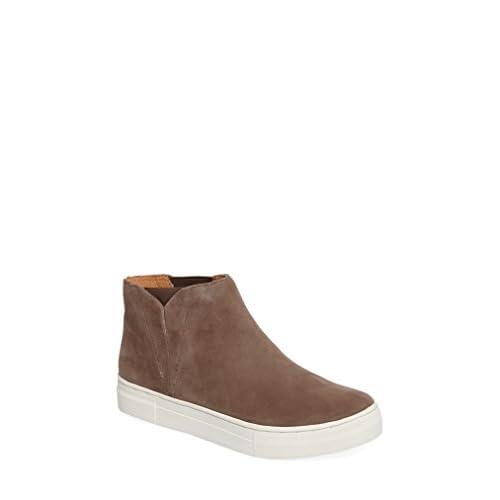 セイシェルズ シューズ スニーカー Seychelles Set Platform Sneaker (Women) Taupe Sued [並行輸入品]