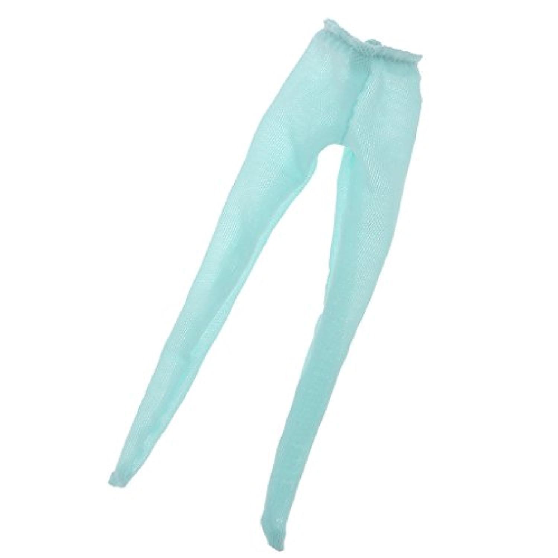 Jiliオンラインファッション人形湖ブルー伸縮性人形ストッキングフィットfor 12