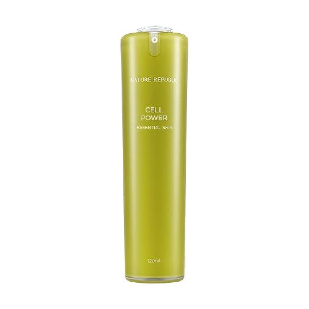 ホームレスコックフラップNATURE REPUBLIC Cell Power Essential Skin / ネイチャーリパブリックセルパワーエッセンシャルスキン 120ml [並行輸入品]