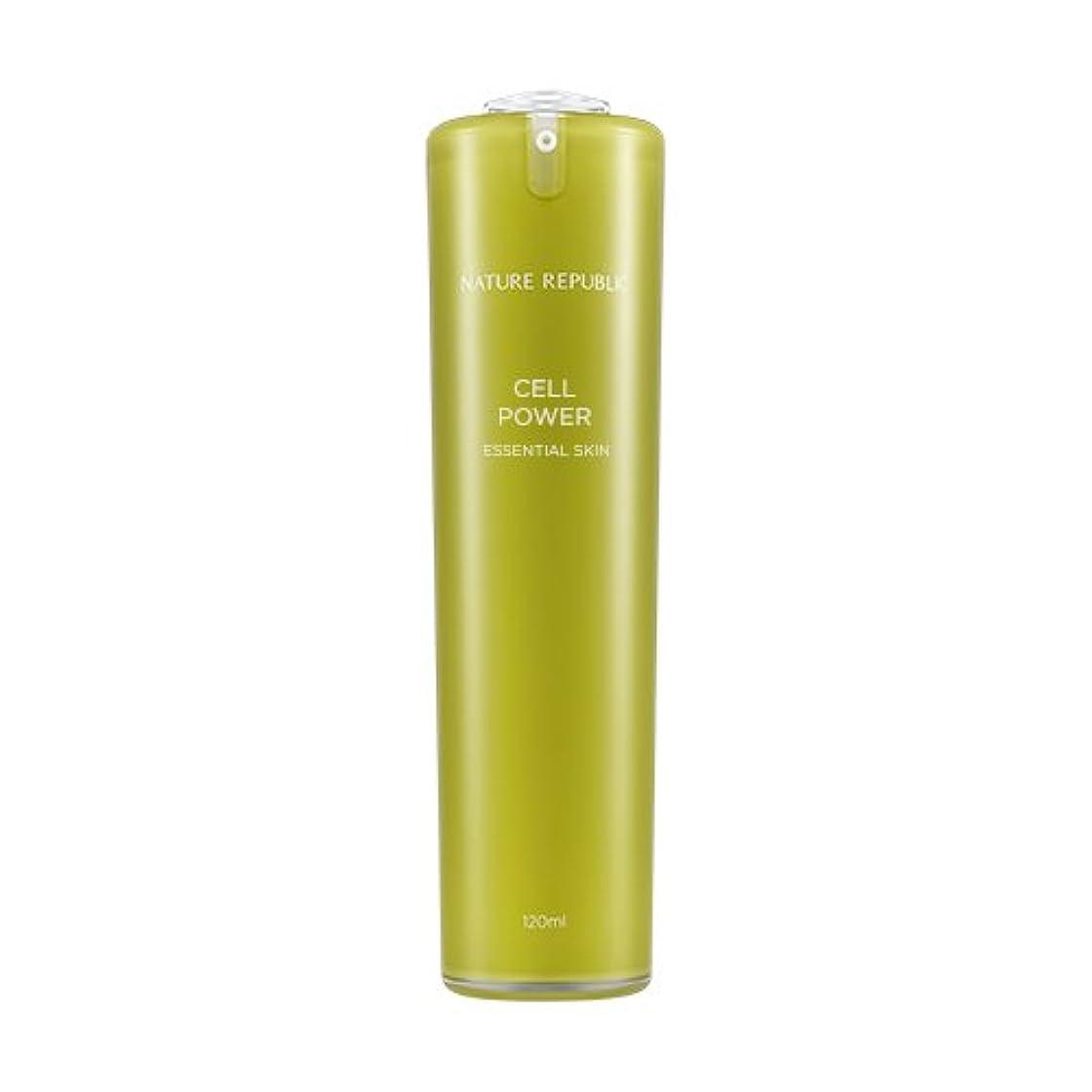 ペン薬お肉NATURE REPUBLIC Cell Power Essential Skin / ネイチャーリパブリックセルパワーエッセンシャルスキン 120ml [並行輸入品]