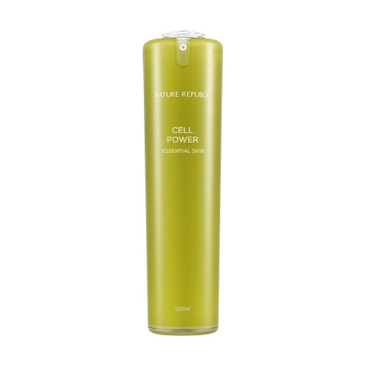 もしアーティスト立ち寄るNATURE REPUBLIC Cell Power Essential Skin / ネイチャーリパブリックセルパワーエッセンシャルスキン 120ml [並行輸入品]