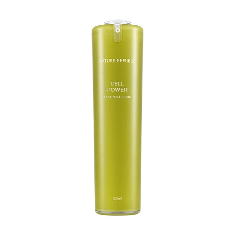 NATURE REPUBLIC Cell Power Essential Skin / ネイチャーリパブリックセルパワーエッセンシャルスキン 120ml [並行輸入品]