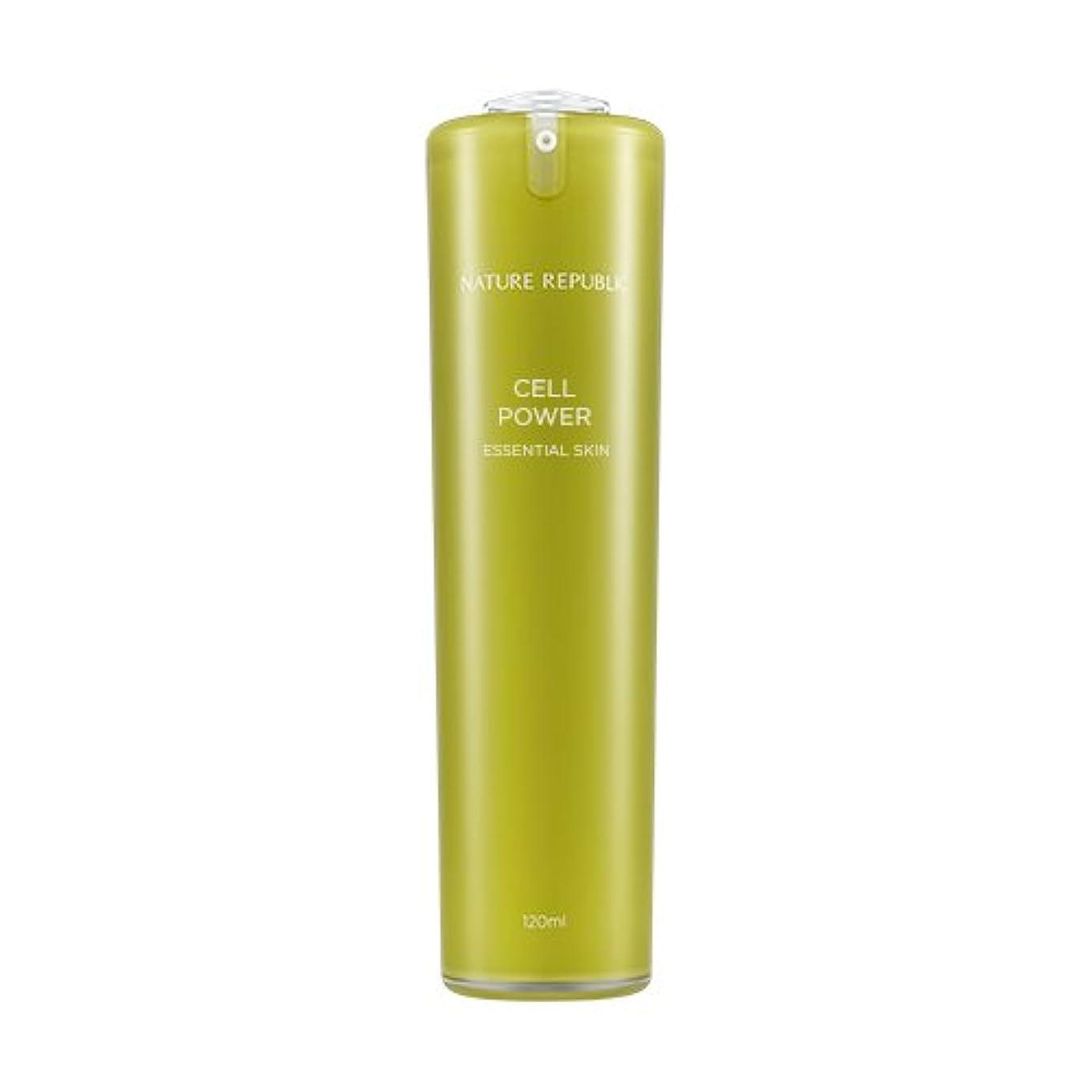 によって依存する飛び込むNATURE REPUBLIC Cell Power Essential Skin / ネイチャーリパブリックセルパワーエッセンシャルスキン 120ml [並行輸入品]