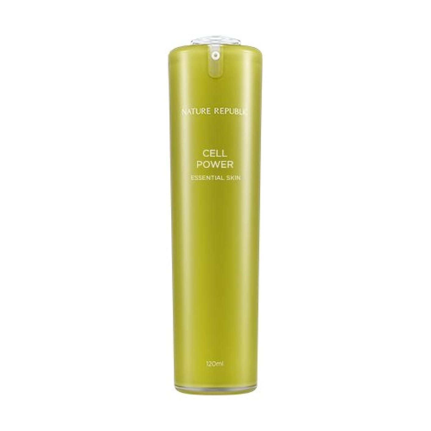 書く船尾インドNATURE REPUBLIC Cell Power Essential Skin / ネイチャーリパブリックセルパワーエッセンシャルスキン 120ml [並行輸入品]
