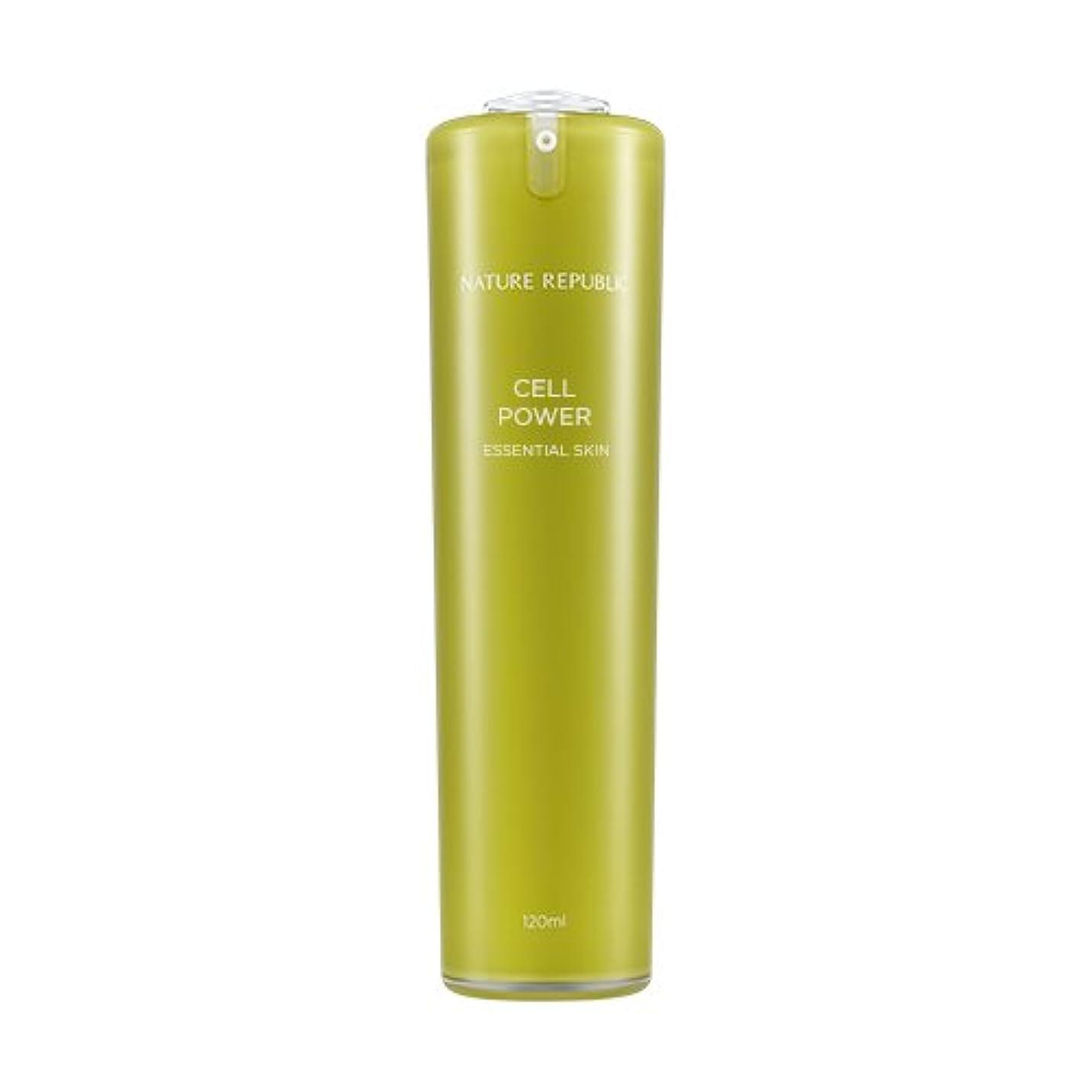 多用途鼓舞する謎めいたNATURE REPUBLIC Cell Power Essential Skin / ネイチャーリパブリックセルパワーエッセンシャルスキン 120ml [並行輸入品]