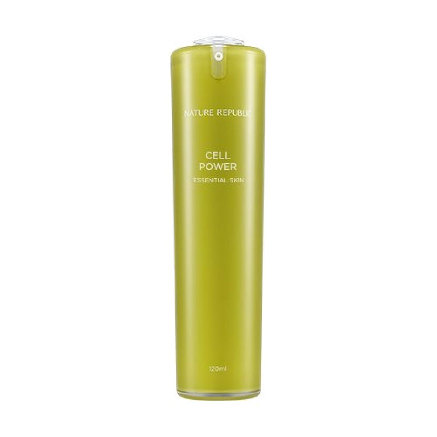 スコアスリム高速道路NATURE REPUBLIC Cell Power Essential Skin / ネイチャーリパブリックセルパワーエッセンシャルスキン 120ml [並行輸入品]