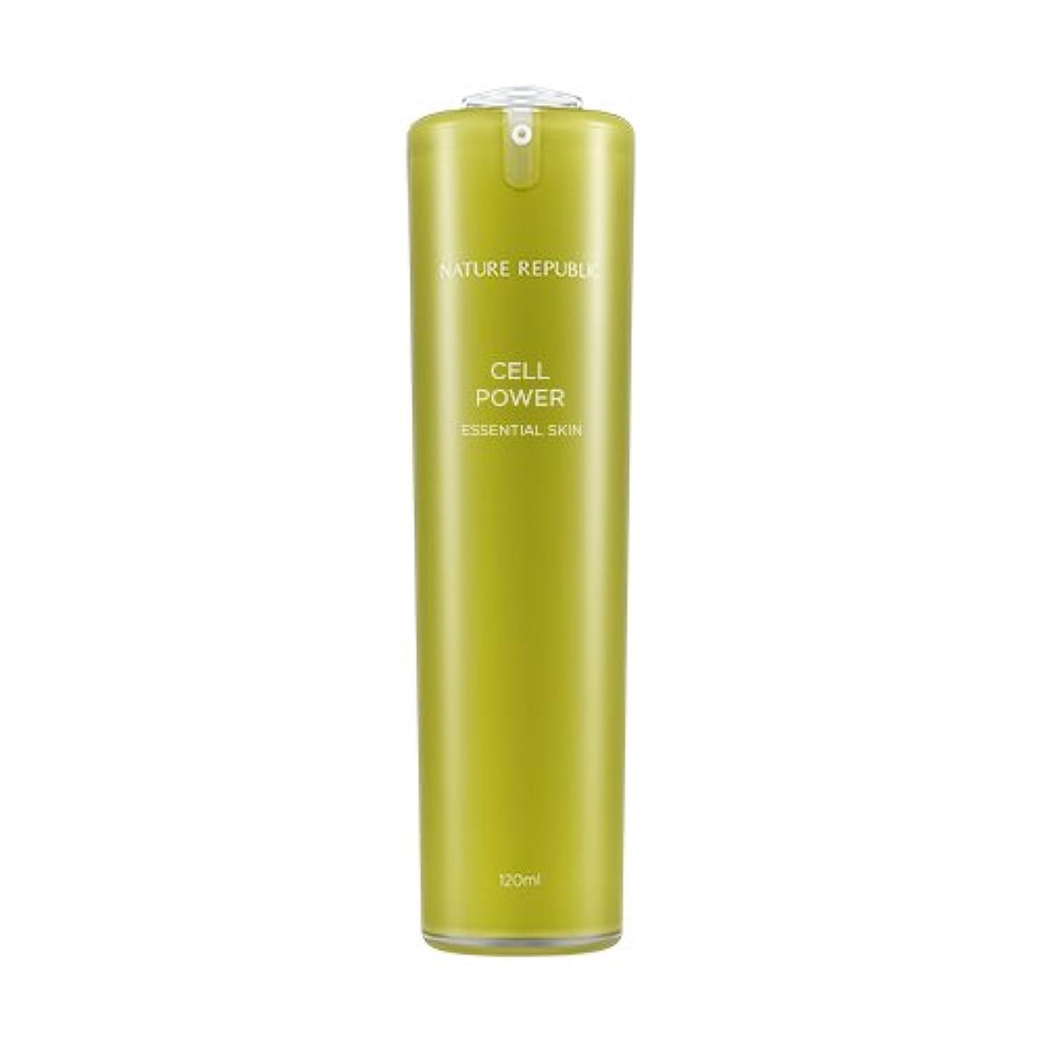 有効鬼ごっこヘッジNATURE REPUBLIC Cell Power Essential Skin / ネイチャーリパブリックセルパワーエッセンシャルスキン 120ml [並行輸入品]
