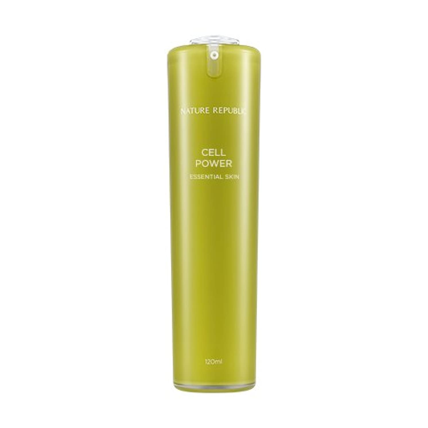提案するソース吐き出すNATURE REPUBLIC Cell Power Essential Skin / ネイチャーリパブリックセルパワーエッセンシャルスキン 120ml [並行輸入品]
