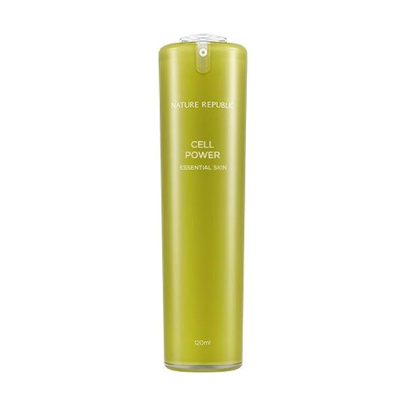 破壊するバレル策定するNATURE REPUBLIC Cell Power Essential Skin / ネイチャーリパブリックセルパワーエッセンシャルスキン 120ml [並行輸入品]