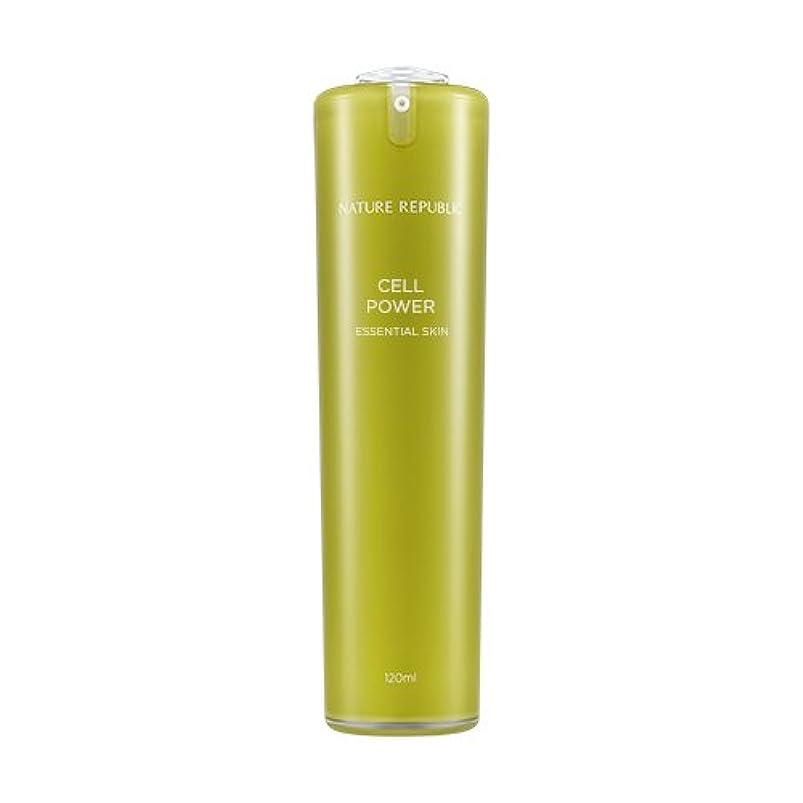 有益規定どこでもNATURE REPUBLIC Cell Power Essential Skin / ネイチャーリパブリックセルパワーエッセンシャルスキン 120ml [並行輸入品]