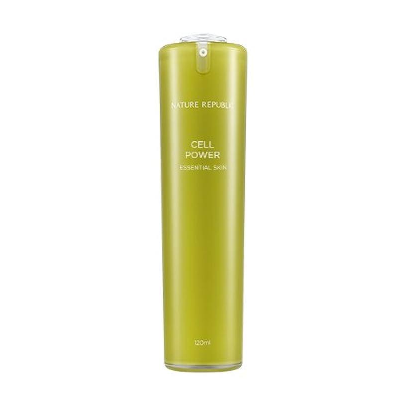 さようならタイト主人NATURE REPUBLIC Cell Power Essential Skin / ネイチャーリパブリックセルパワーエッセンシャルスキン 120ml [並行輸入品]
