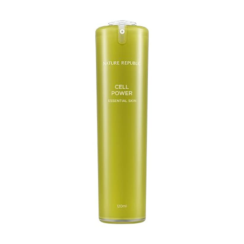 特許ブリリアントハブブNATURE REPUBLIC Cell Power Essential Skin / ネイチャーリパブリックセルパワーエッセンシャルスキン 120ml [並行輸入品]