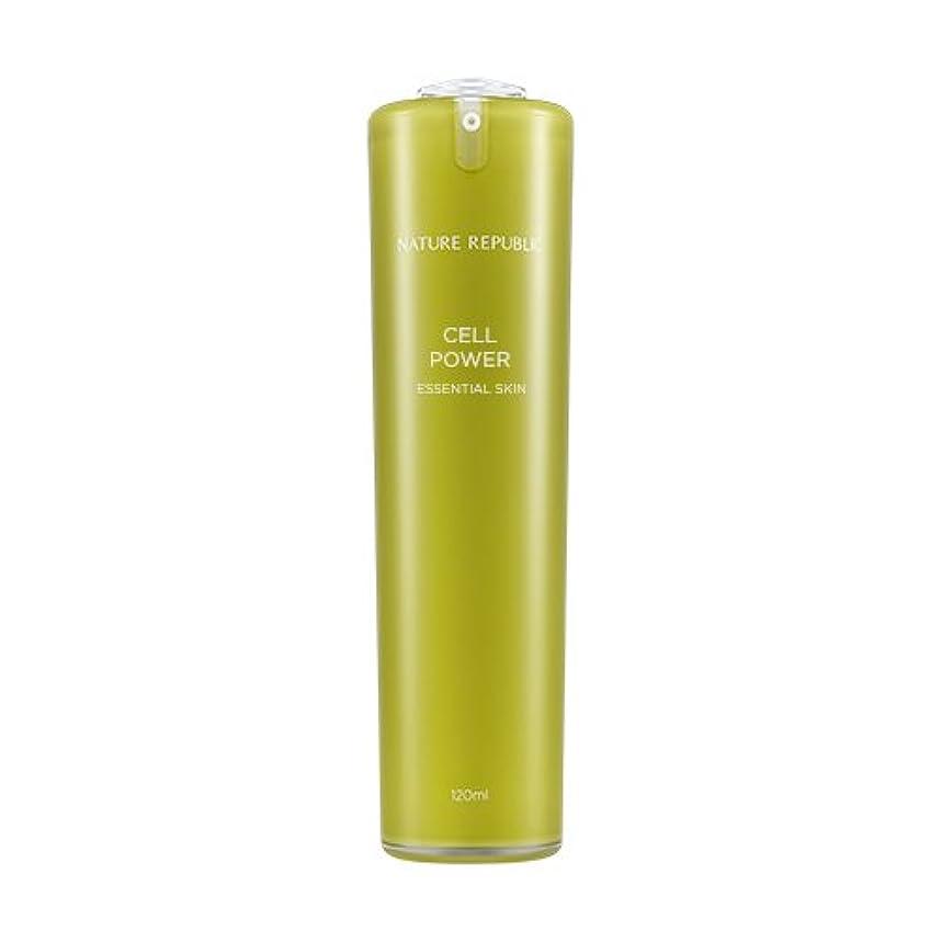変更溶けた頼むNATURE REPUBLIC Cell Power Essential Skin / ネイチャーリパブリックセルパワーエッセンシャルスキン 120ml [並行輸入品]